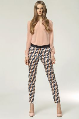 Colorful Geometric Trend Modern Long Pants